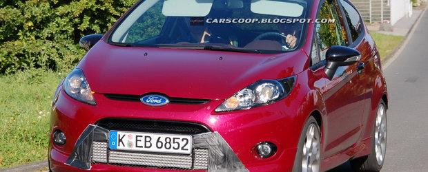 Noul Ford Fiesta ST se arata. Si mai vine si cu 200 de cp... Asa da!