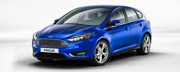 Noul Ford Focus 2015: reinventarea hatchback-ului (FOTO si VIDEO)