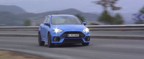 Noul Ford Focus RS mai bifeaza un review pozitiv in mainile celor de la Evo