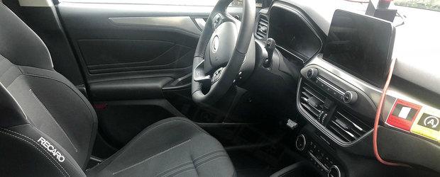 Noul Ford Focus ST, surprins cu interiorul la vedere. Cum arata hot-hatch-ul cu motor de 2.3 litri