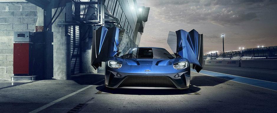 """Noul Ford GT este masina favorita a momentului: mii de oameni se """"bat"""" pentru doar 500 de exemplare"""