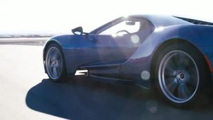 Noul Ford GT in actiune