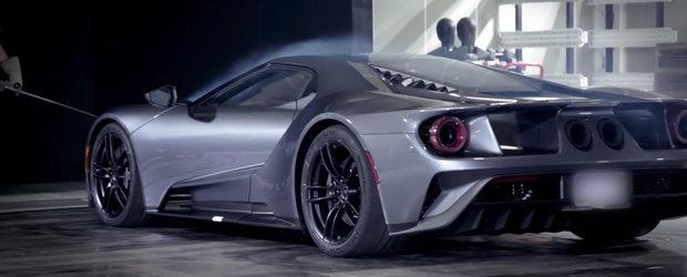 Noul Ford GT in tunelul de vant... uhm, e cel mai sexy lucru pe care il vei intalni astazi