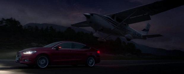 Noul Ford Mondeo face pe eroul in ultimul sau clip de promovare