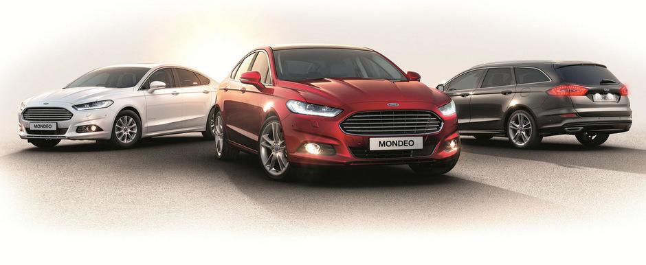 Noul Ford Mondeo ne dezvaluie toate atuurile sale tehnice si tehnologice