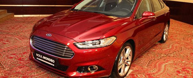 Noul Ford Mondeo va avea motoare produse la Craiova