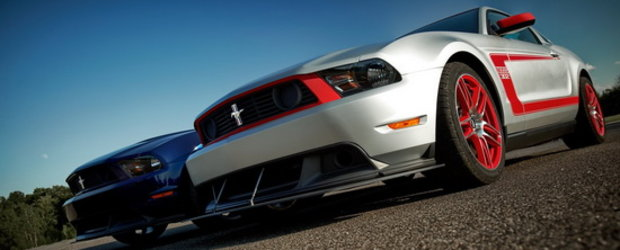 Noul Ford Mustang Boss 302 pozeaza in toate pozitiile!