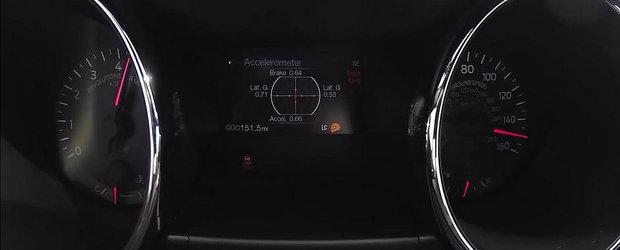 Noul Ford Mustang GT are nevoie de o vesnicie pentru a prinde 240 km/h