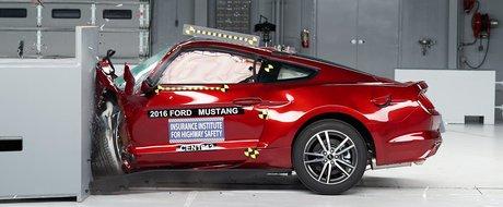 Noul Ford Mustang se face de ras la EuroNCAP: mai putine stele de siguranta ca un Logan
