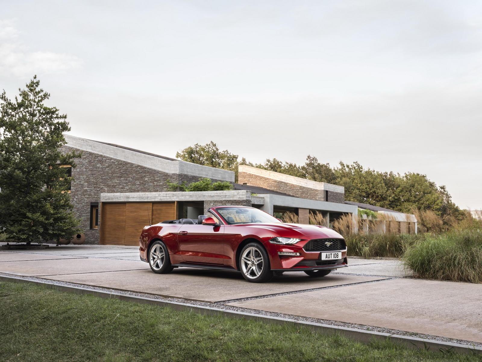 Noul Ford Mustang - Versiunea pentru Europa - Noul Ford Mustang - Versiunea pentru Europa