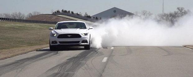 Noul Ford Mustang vine cu un soft capabil sa 'scoata' burnout-uri la comanda