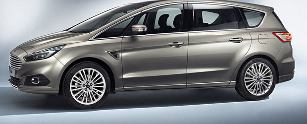 Noul Ford S-Max arata promitator in primele imagini oficiale
