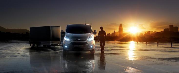 Noul Ford Transit Custom castiga titlul 'International Van of the Year'