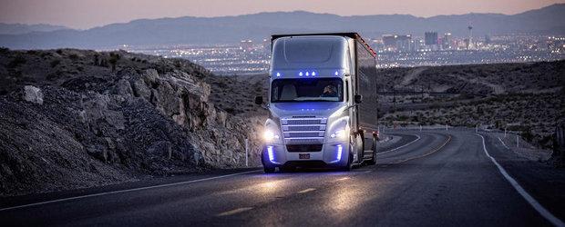 Noul Freightliner Inspiration ne dezvaluie cum arata camionul viitorului