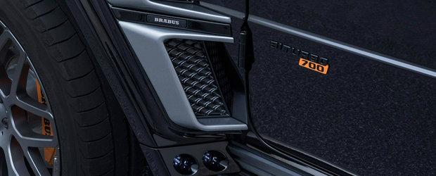 Noul G63 AMG ajunge pe mainile specialistilor BRABUS: exterior si mai agresiv si 700 de cai sub capota