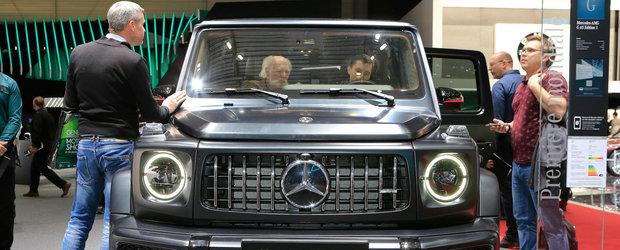 Noul G63 AMG este vedeta Salonului de la Geneva. Toti vor sa-l atinga si sa-l fotografieze din toate unghiurile