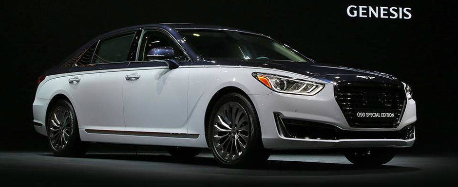 Noul Genesis G90 Special Edition aduce mai mult a Bentley decat Hyundai