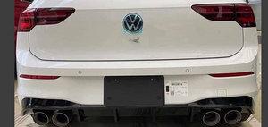 Noul Golf 8 R a ajuns mai devreme pe internet. Pozele pe care nemtii de la VW le vor sterse de urgenta