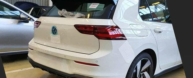 Noul Golf GTI a ajuns mai devreme pe internet. Poza pe care sefii VW o vor stearsa de urgenta!