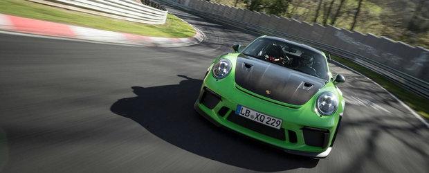 Noul GT3 RS a zburat pe legendarul Nurburgring Nordschleife. Este cu 24 de secunde mai rapid decat vechiul model