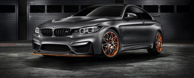 Noul GTS Concept prefigureaza cel mai tare M4 pe care BMW planuieste sa-l ofere