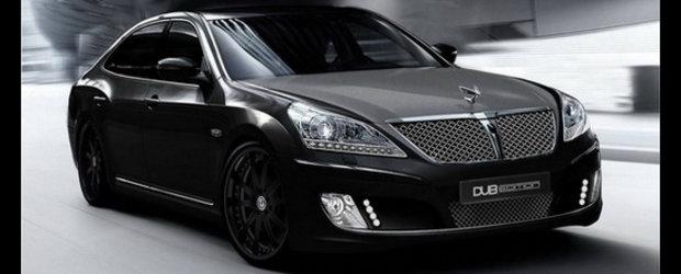Noul Hyundai Equus DUB Edition are o obsesie pentru... NEGRU!