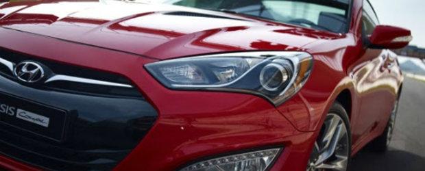 Noul Hyundai Genesis Coupe - Primele fotografii oficiale!