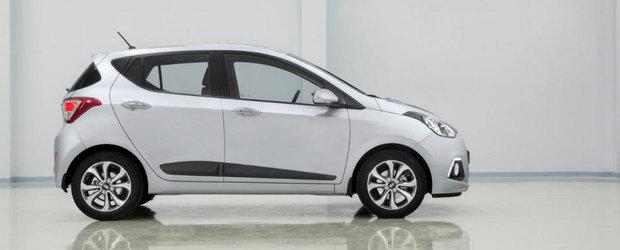 Noul Hyundai i10 pleaca de la 8.500 de lire sterline in Marea Britanie