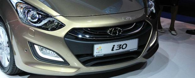 Noul Hyundai i30, disponibil in Romania la inceputul lui 2012