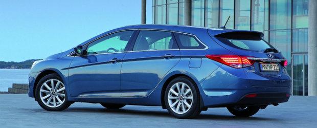 Noul Hyundai i40 a obtinut 5 stele in cadrul testelor Euro NCAP