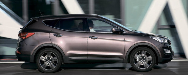 Noul Hyundai Santa Fe, disponibil si pe piata auto din Romania