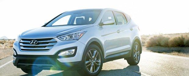 Noul Hyundai Santa Fe porneste de la 24.450 dolari