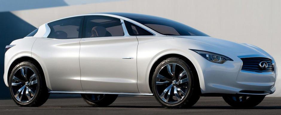 Noul Infiniti Q30, intre Audi A3 si Audi Q3