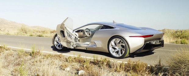 Noul Jaguar C-X75 va fi echipat cu motor de 1.6 litri de 500 CP