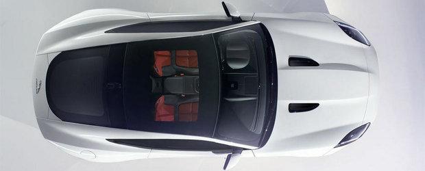 Noul Jaguar F-Type Coupe isi anunta aparitia la LA Auto Show 2013