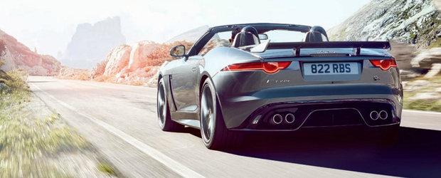 Noul Jaguar F-Type SVR apare de nicaieri, promite 575 CP si tractiune integrala