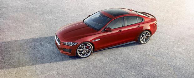 Noul Jaguar XE debuteaza cu un V6 de 340 CP si planuri marete