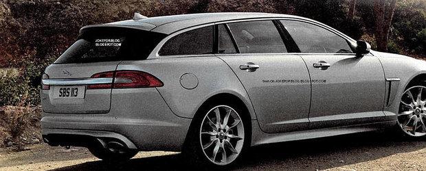 Noul Jaguar XF Sportbrake, deconspirat de brosura oficiala