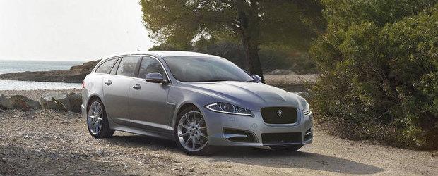 Noul Jaguar XF Sportbrake se prezinta in detaliu