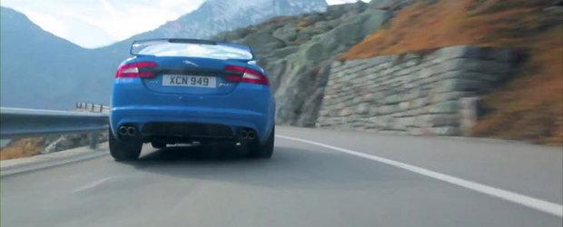 Noul Jaguar XFR-S primeste primul sau promo, suna absolut glorios!