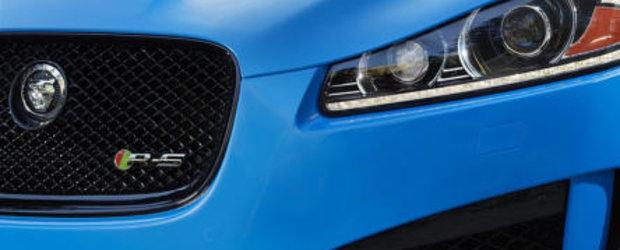 Noul Jaguar XFR-S se dezlantuie in mod oficial saptamana viitoare