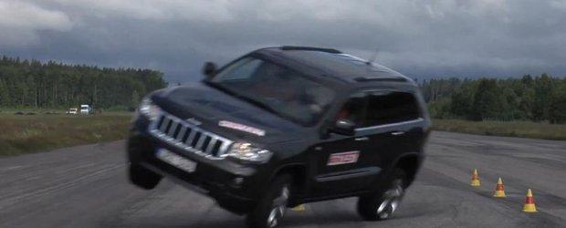 Noul Jeep Grand Cherokee este supus la testul 'elanului'