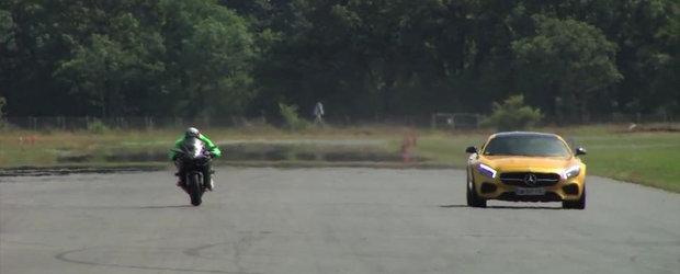 Noul Kawasaki H2R isi spulbera adversarii pe pista de drag