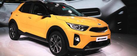 Noul Kia Stonic este tot mai aproape de tine. Micutul crossover a debutat oficial la Frankfurt