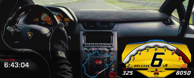 Noul Lambo Aventador SV intra in cursa pentru 'Ring cu un 6:59