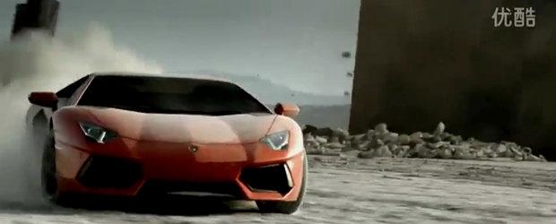 Noul Lamborghini Aventador LP700-4 salveaza omenirea de la pieire!