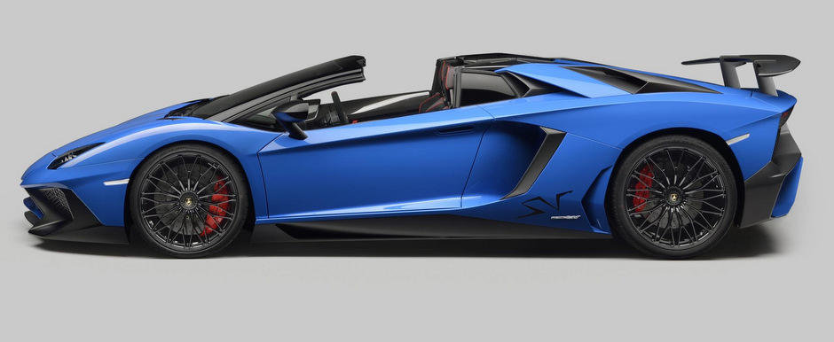Noul Lamborghini Aventador SV Roadster debuteaza oficial cu 750 CP sub capota