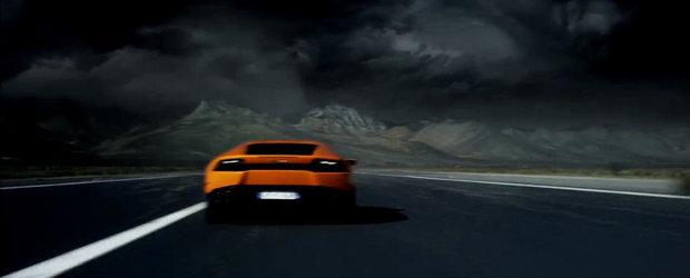 Noul Lamborghini Huracan infrunta natura dezlantuita in primul sau promo