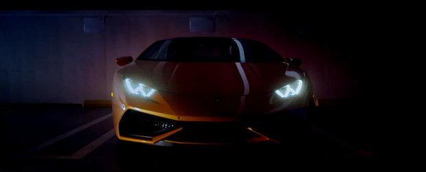 Noul Lamborghini Huracan isi face aparitia in primul sau video oficial