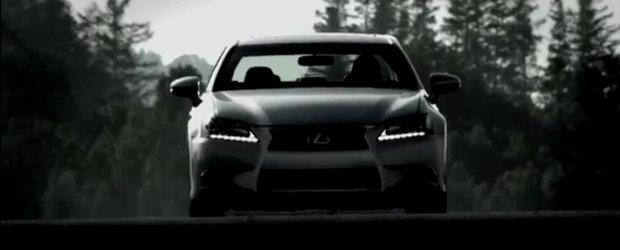 Noul Lexus GS isi dezvaluie ambitiile sportive - Video!
